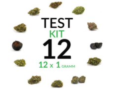 cannabis kit test 12 grams cbd flower
