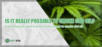 its possibile to smoke cbd oil