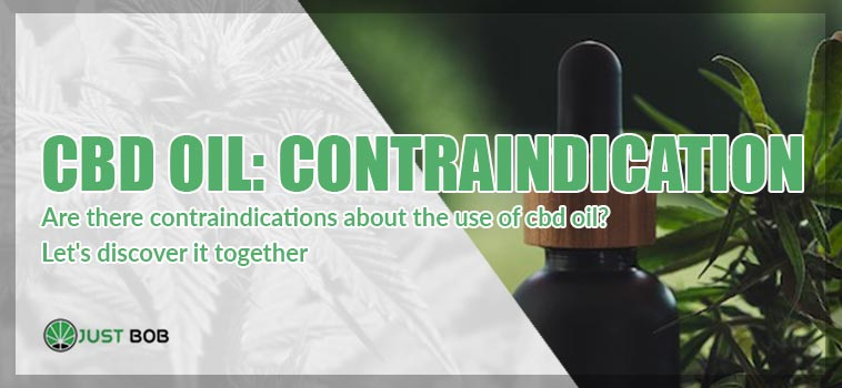 contraindications does CBD oil have