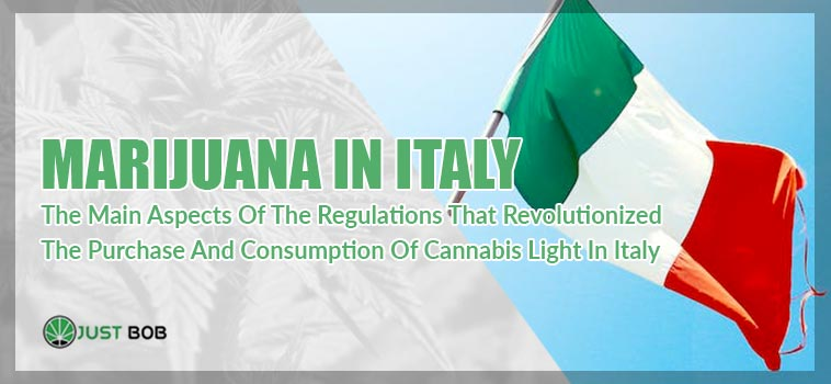 image about the marijuana light in italy