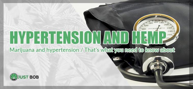 HYPERTENSION AND HEMP