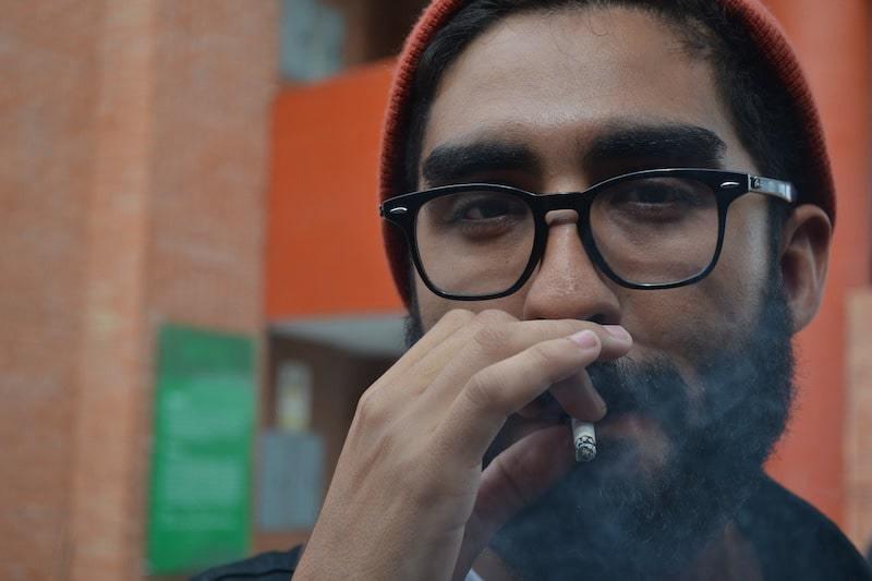 passive smoking test