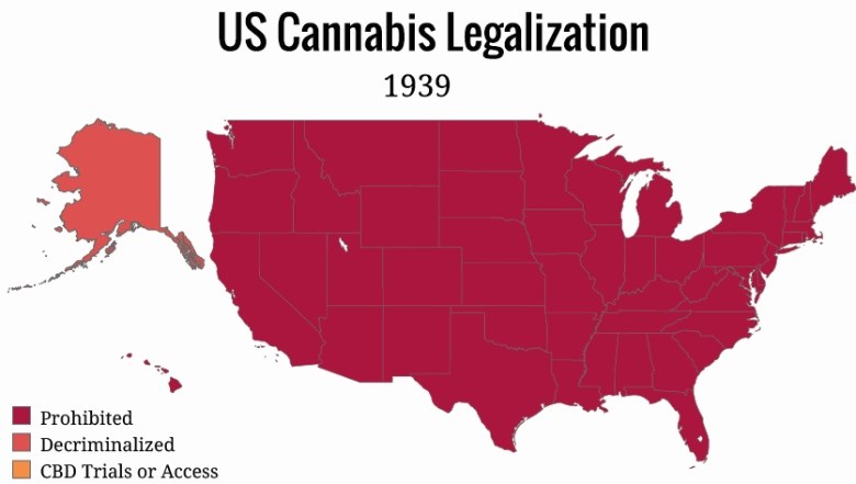 American states where smoking marijuana is completely legal
