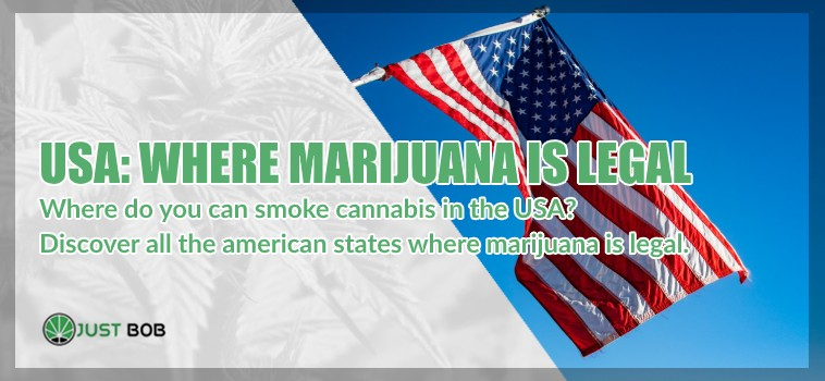 american states where marijuana is legal