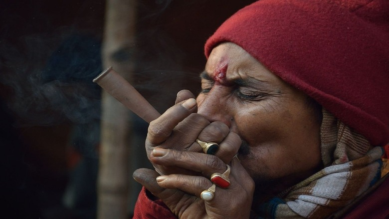 in india the use of cannabis is legal only for religious purposes