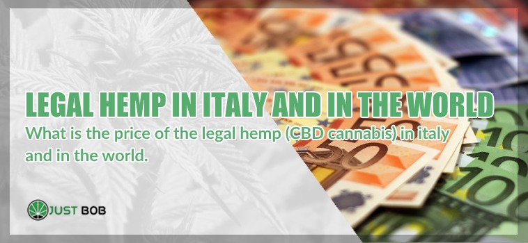 legal hemp in Italy and in the world