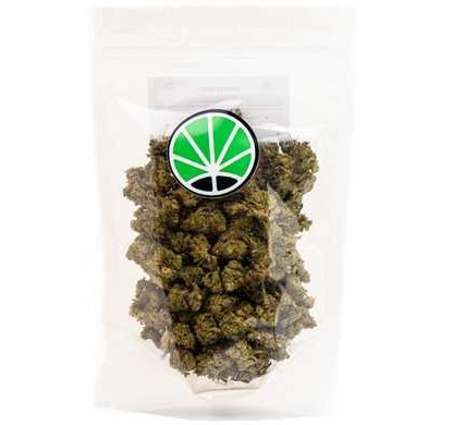 Packaging for Master Kush CBD flowers high quality cannabis