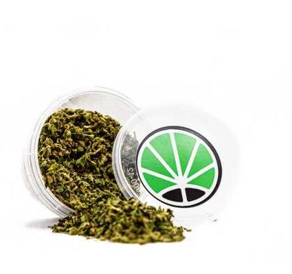 Package with CBD Weed of Sieved Of Bubblegum
