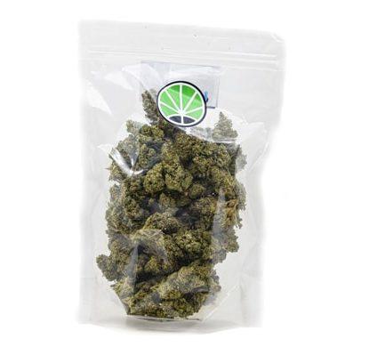 Packaging of CBD Gorilla Glue Weed