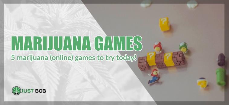 Marijuana games and cbd cannabis