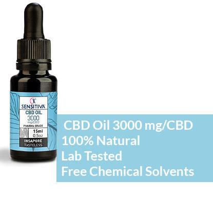 CBD oil 20% JustBob