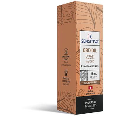 Package CBD Oil 15 ml 15% - Sensitiva