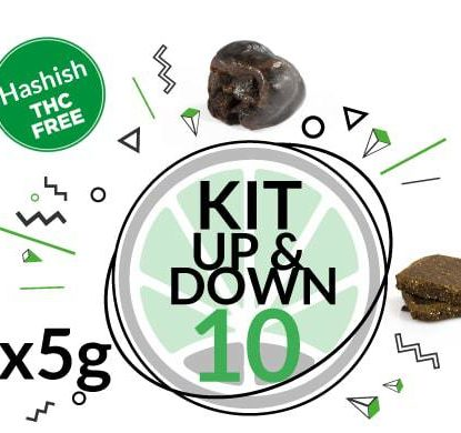 Test Kit Up&Down for 10 grams legal hash online of 2 Varieties