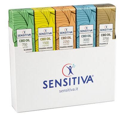 Kit of 5 packs of CBD Oil Sensitiva
