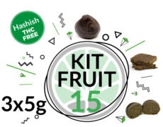 Test Kit FRUIT HASH for 15 grams CBD hash online of 3 Varieties