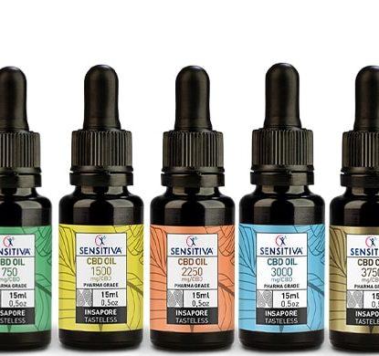 Kit Bottles Oil CBD - Sensitiva