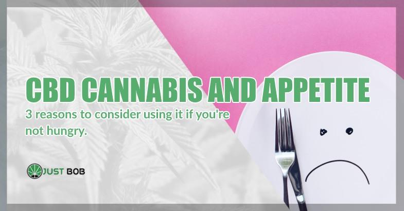 CBD Cannabis and appetite