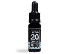 Bottle of CBD Oil 10 ml 20% - Sativa