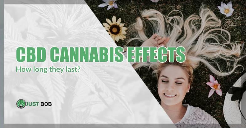 cbd cannabis effects duration