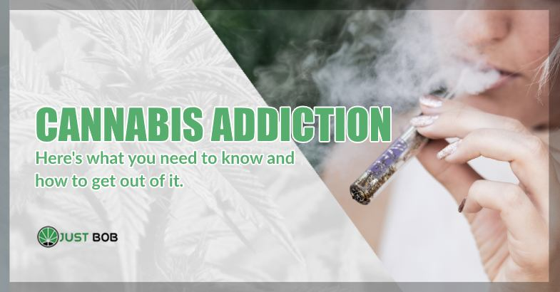 Cannabis addiction THC