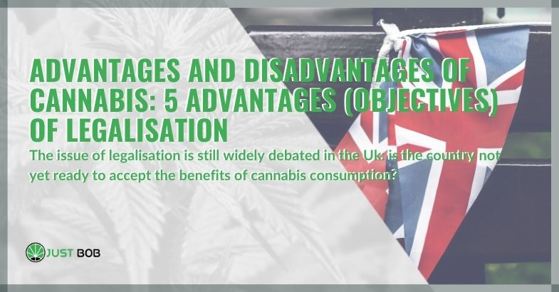 Advantages and disadvantages of cannabis