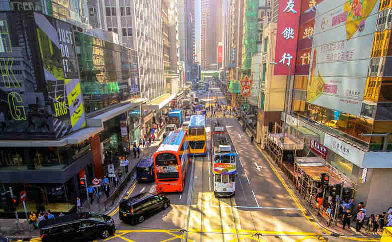 Hong Kong's street