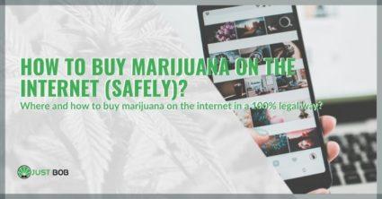 How to buy marijuana on the Internet (safely)?