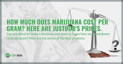 How much does marijuana cost per gram?