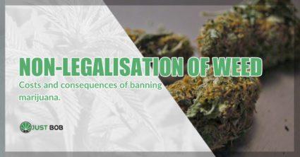 non-legalisation of marijuana