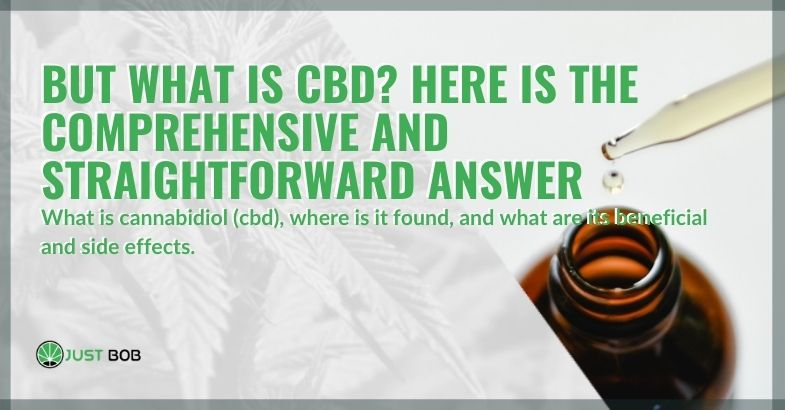 Here is an exhaustive explanation of what CBD is
