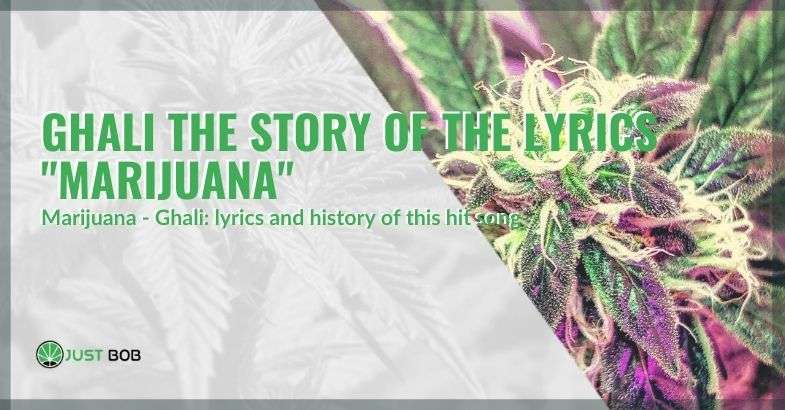 """Ghali and the story of his song: """"Marijuana"""""""