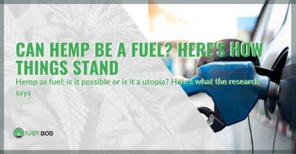 Can hemp be a fuel or is it a utopia?