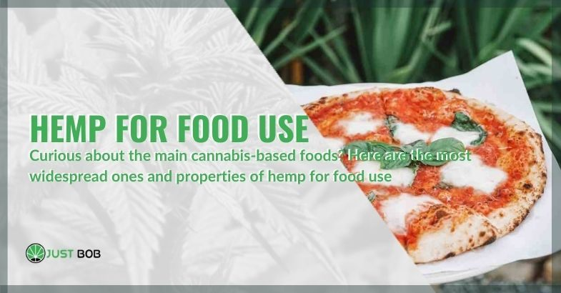 Here are the most popular foods based on hemp and its properties