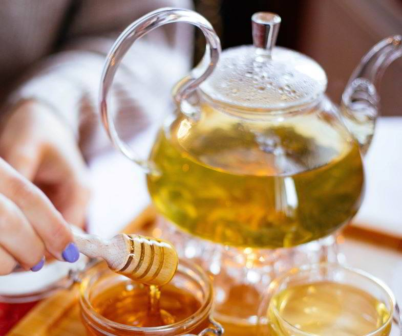 Ideas on what to do with hemp leaves: herbal tea.